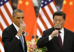 obama xi drinking